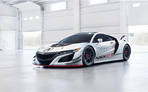 Papéis de Parede Acura NSX GT3 supercar