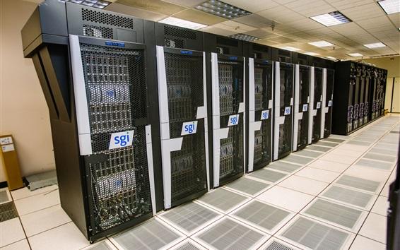 Wallpaper Altix SGI supercomputer