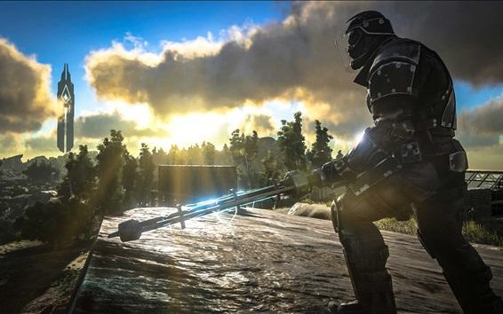 Wallpaper Ark: Survival Evolved, soldier