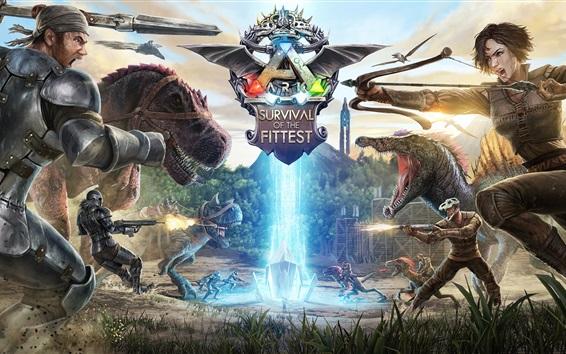 Fondos de pantalla Arca: supervivencia del más apto, juegos de PS4