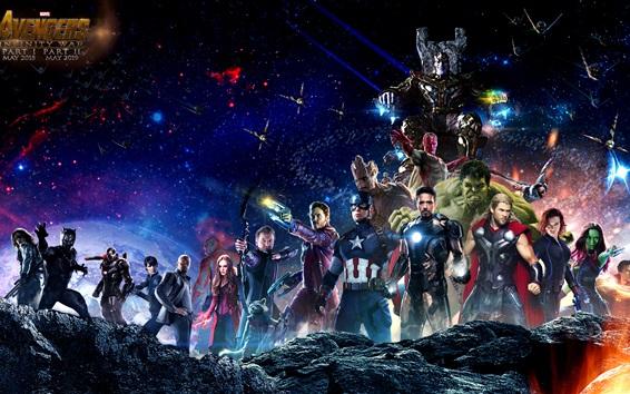 Fondos de pantalla Avengers 3: Infinity War 2018