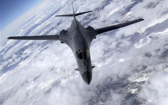 Обои B-1B Lancer бомбардировщик