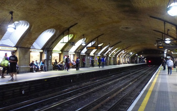 Обои Бейкер-стрит, метро, Англия