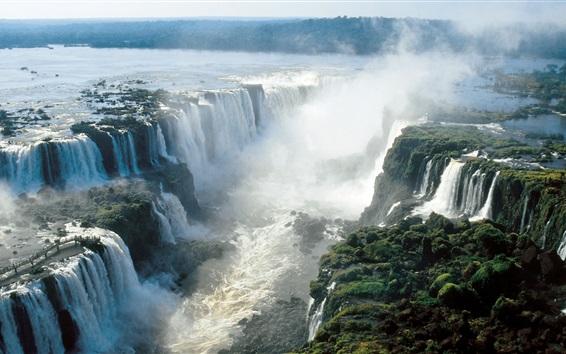 Обои Красивые водопады Игуасу