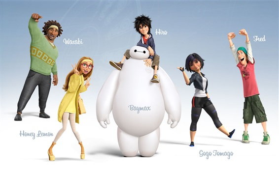 Fondos de pantalla Big Hero 6 HD