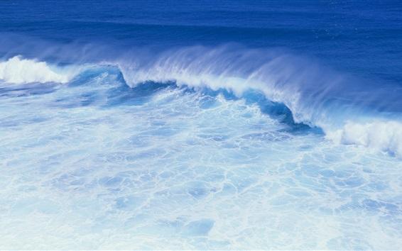 Wallpaper Blue sea waves
