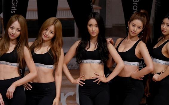 Hintergrundbilder Brave Mädchen, koreanische Musikgruppe  08
