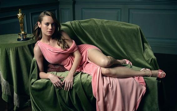 Wallpaper Brie Larson 01