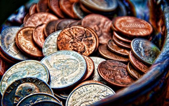 Fond d'écran Coins, dollars, Amérique
