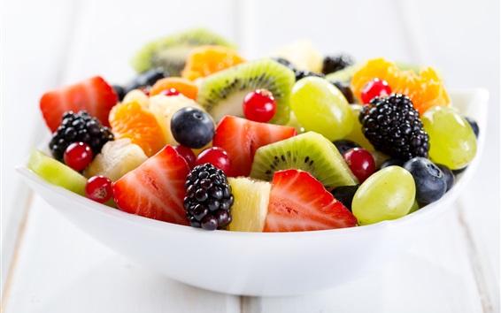 Wallpaper Delicious dessert, fruit salad