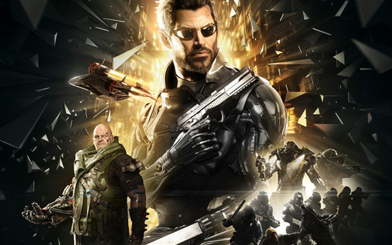 Wallpaper Deus Ex: Mankind Divided HD