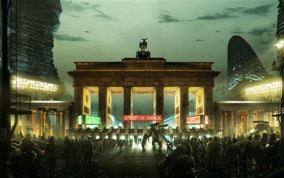 Fondos de pantalla Deus Ex: La humanidad dividido, los juegos de Xbox