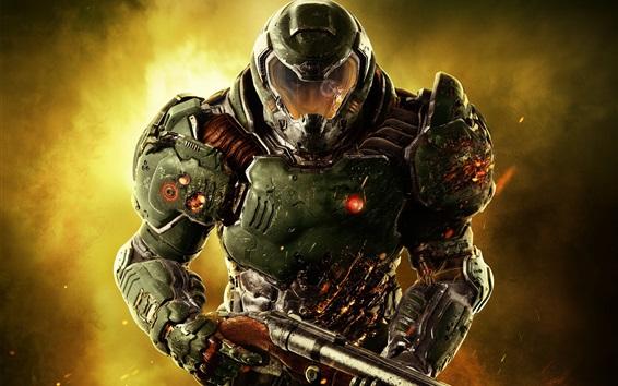 Papéis de Parede Doom, soldado