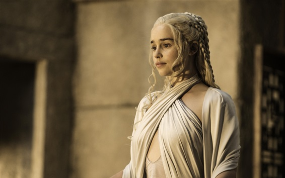 Fondos de pantalla Emilia Clarke, Juego de Tronos, la estación 5