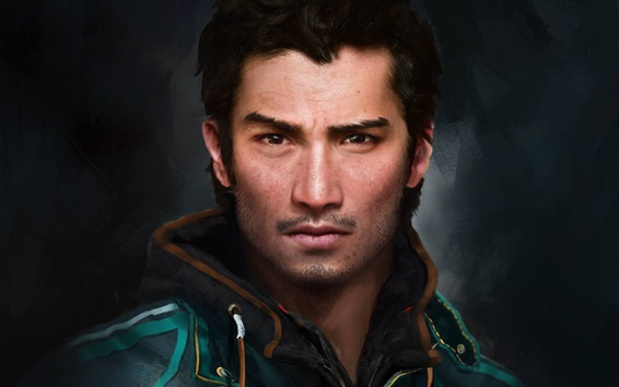 Wallpaper Far Cry 4, main character