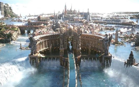 Обои Final Fantasy XV, мир мечты