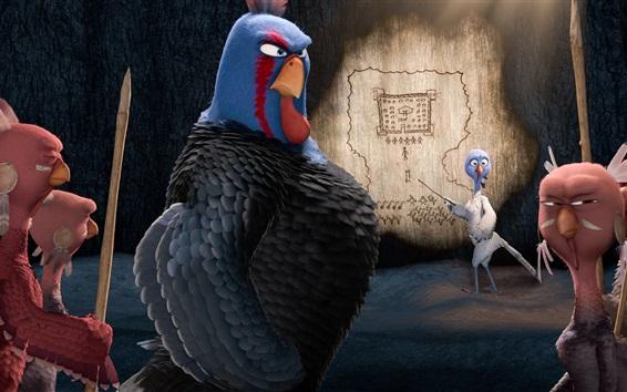 Fondos de pantalla Libre de los pájaros, película de dibujos animados