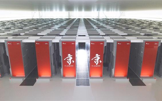 Wallpaper Fujitsu K Computer, supercomputer