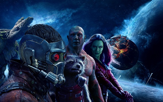 Wallpaper Guardians of the Galaxy Vol. 2