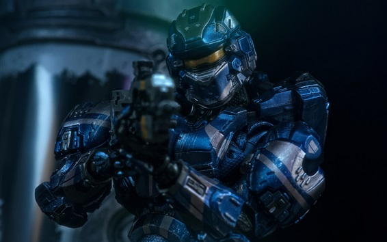 Wallpaper Halo 4, armor, soldier