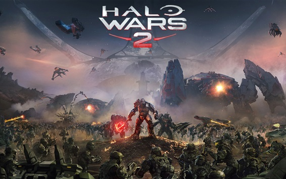 Wallpaper Halo Wars 2 Xbox games