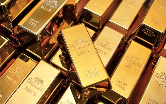 壁紙 高純度の金の地金