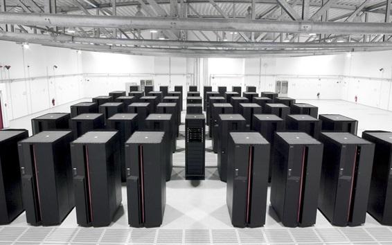 Обои IBM суперкомпьютер