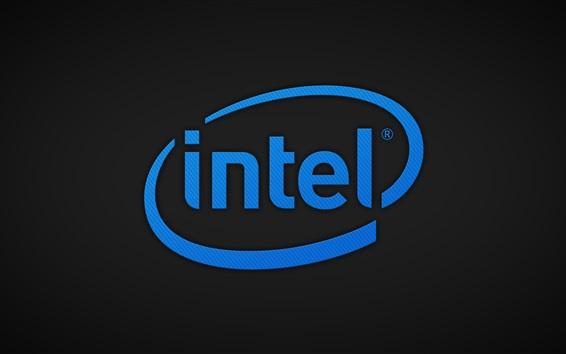Fondos de pantalla logotipo de Intel, corporación CPU