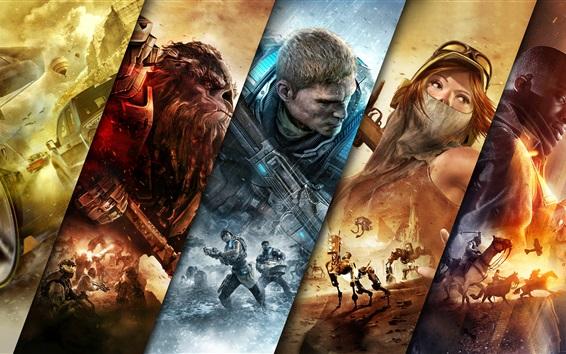 Wallpaper Jump Ahead, Xbox games