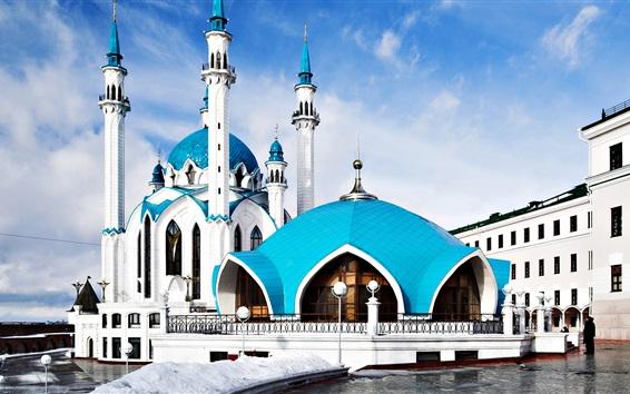 Wallpaper Kul Sharif Mosque in Kazan, Russia