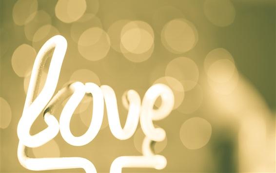 Fond d'écran feux de l'amour, l'éblouissement, bokeh