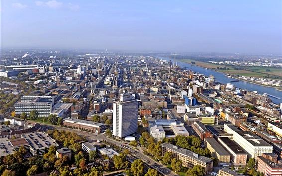 Fondos de pantalla Ludwigshafen, sede del grupo BASF, Alemania