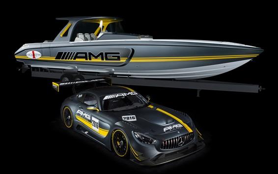 Wallpaper Mercedes-Benz AMG GT3 C190 supercar