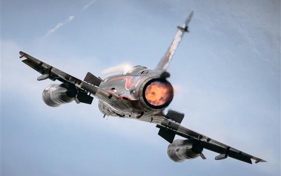 Fond d'écran Mirage 2000N vue arrière de l'avion