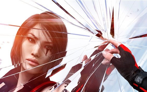Wallpaper Mirror's Edge, EA games