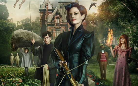Wallpaper Miss Peregrine's Home for Peculiar Children 2016
