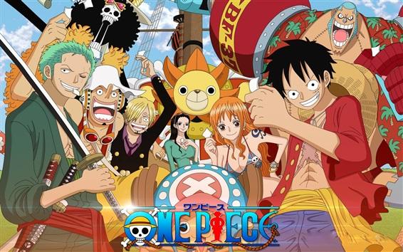 Fond d'écran One Piece Anime