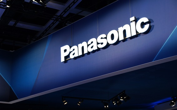 Wallpaper Panasonic logo