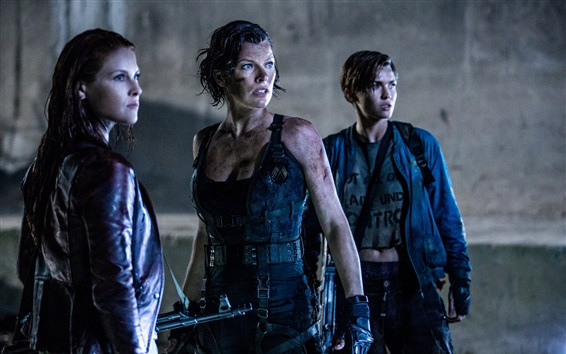 Обои Resident Evil: The Final Chapter 2017