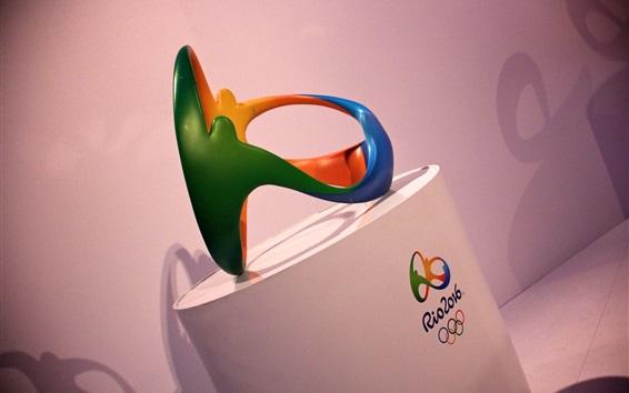 桌布 2016年裡約奧運會會徽