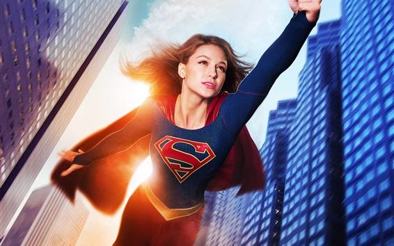 Fond d'écran Supergirl, Melissa Benoist