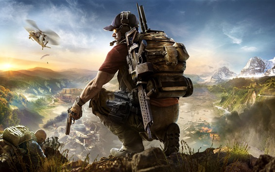 Hintergrundbilder Tom Clancys Ghost Recon: Wildnisse