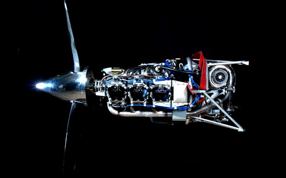 Обои газотурбинный двигатель