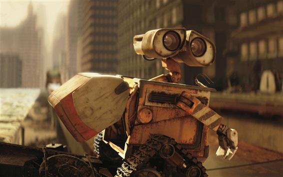 Papéis de Parede Wall E robô, filme clássico