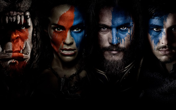 Wallpaper Warcraft movie 2016 HD