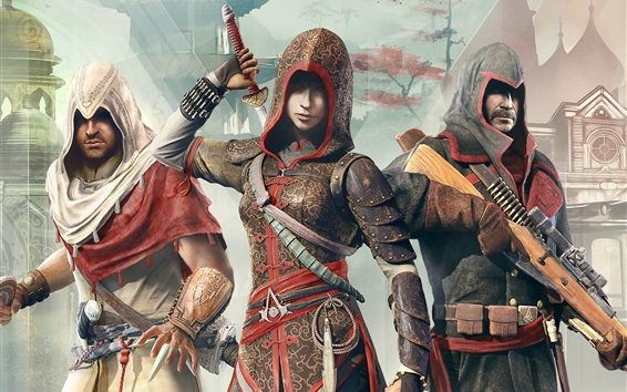 Fondos de pantalla Assassins Creed: Crónicas Trilogy