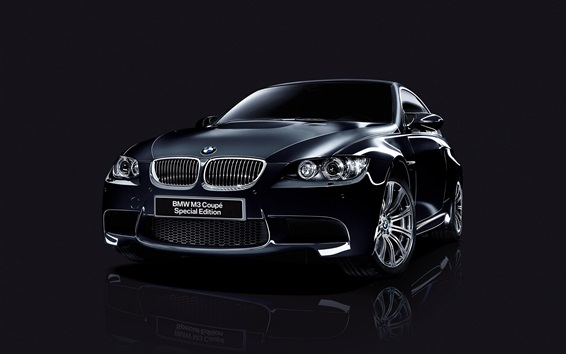 Wallpaper BMW M3 Coupe Special Edition black car