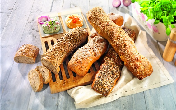 Обои Выпечка, хлеб