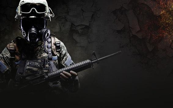 Fond d'écran CS: GO, soldat