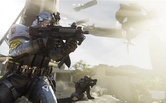 Fondos de pantalla Call of Duty: Guerra Infinita, juegos de Xbox